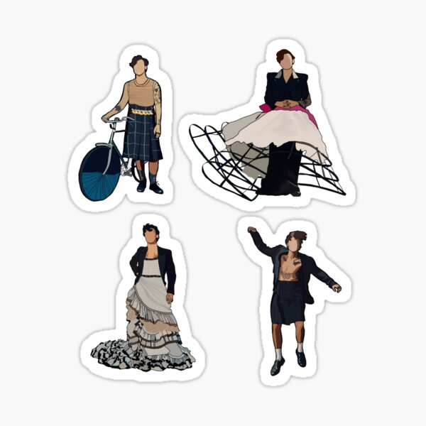 Harry Styles Vogue sticker pack Sticker