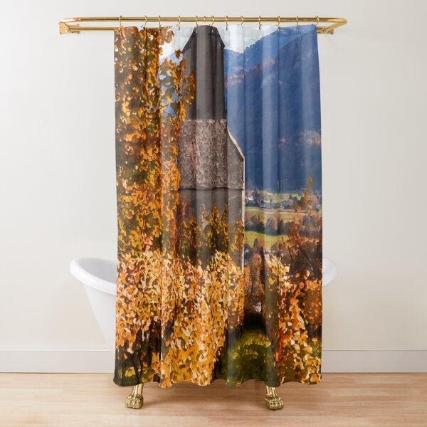 tuscany shower curtains redbubble
