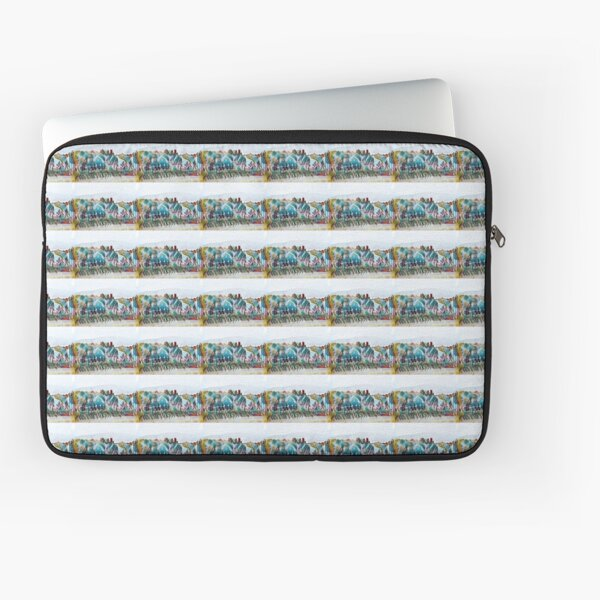 ABSTRACT | Coastal Otago Pastels  Laptop Sleeve