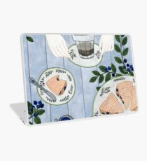 Blueberry Scones Laptop Skin