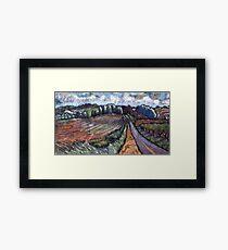 County Road Framed Print