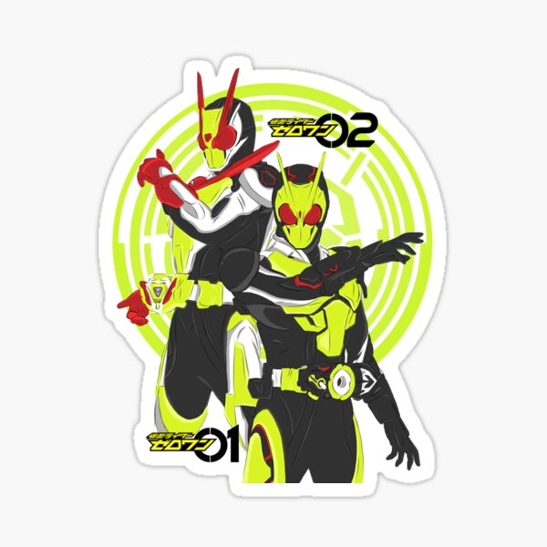 KAMEN RIDER ZERO ONE ZERO TWO Sticker