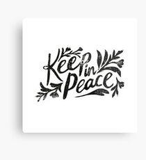 Keep In Peace Metal Print