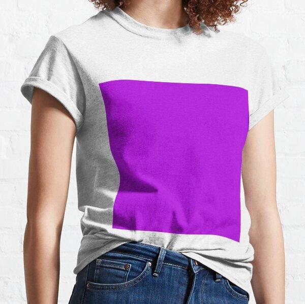 SOLID PLAIN ELECTRIC VIOLET Classic T-Shirt
