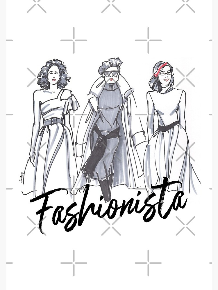 Sassy Fashionistas by DKomjati
