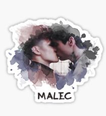 Malec - Shadowhunters - Canvas Sticker