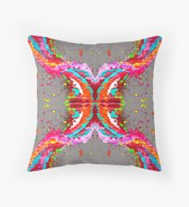 Crossover Twisted Inspiration Throw Pillow