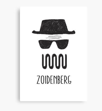 ZOIDENBERG Canvas Print