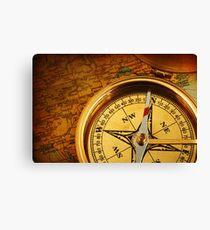 Compass for a captain Canvas Print