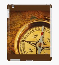 Compass for a captain iPad Case/Skin