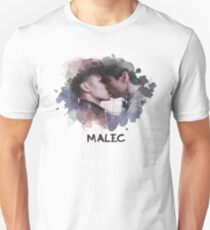 Malec - Shadowhunters - Canvas T-Shirt