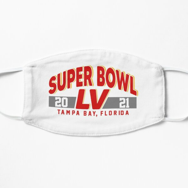 Super Bowl LV 2021 Tampa Bay Football Championship Mask