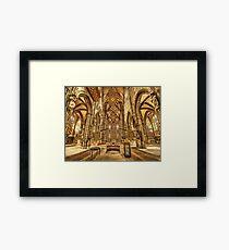 St. Lorenz medieval church Nuremberg Germany Framed Print