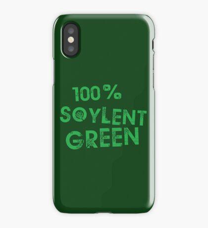 100% SOYLENT GREEN iPhone Case/Skin