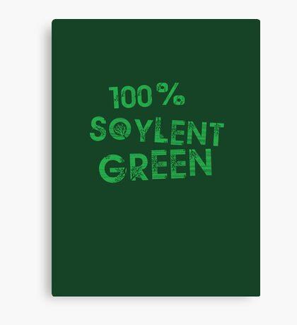 100% SOYLENT GREEN Canvas Print
