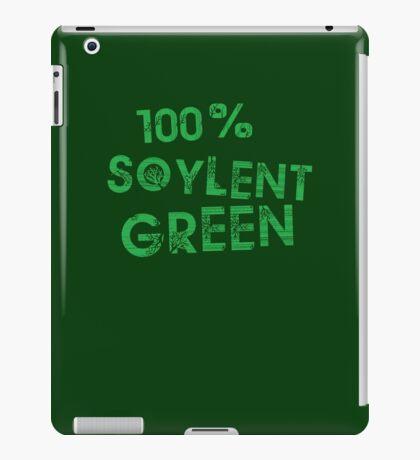 100% SOYLENT GREEN iPad Case/Skin