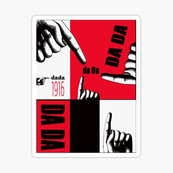 Dada Art  Sticker