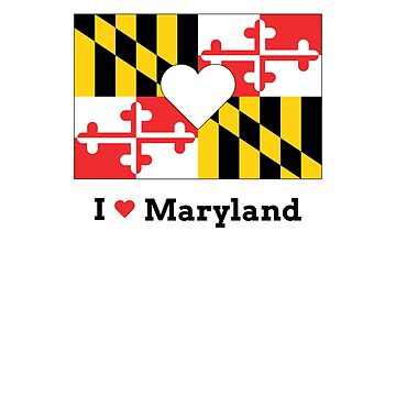 I Heart Maryland by meliebel