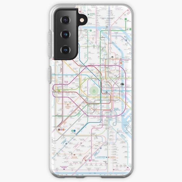 Tokyo Metro Map Samsung Galaxy Soft Case