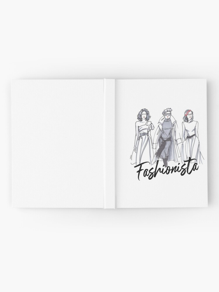Alternate view of Sassy Fashionistas Hardcover Journal