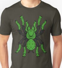 Heraldic Tarantula (Green / Black) T-Shirt