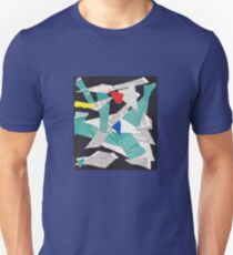 Collage abstract multicolor 3232 T-Shirt