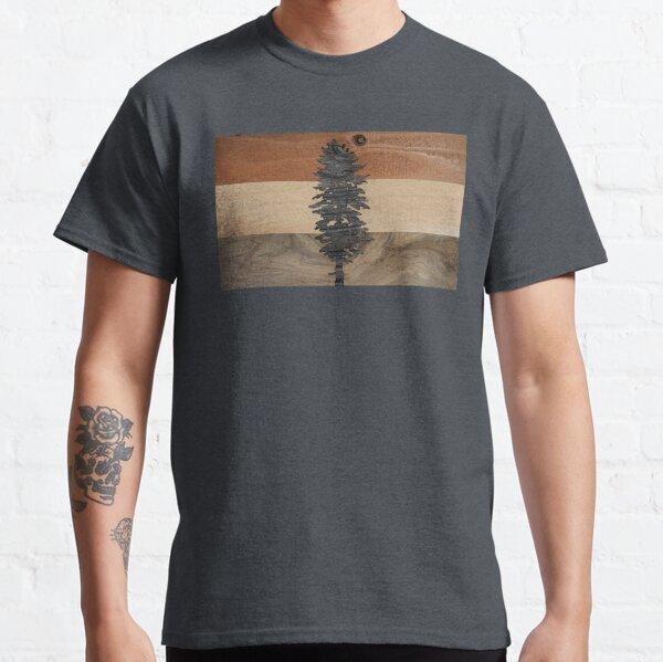 The Doug Flag in Wood Classic T-Shirt