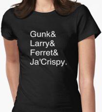 Jokers Nicknames Women's Fitted T-Shirt