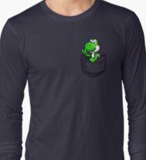 Pocket Yoshi Long Sleeve T-Shirt