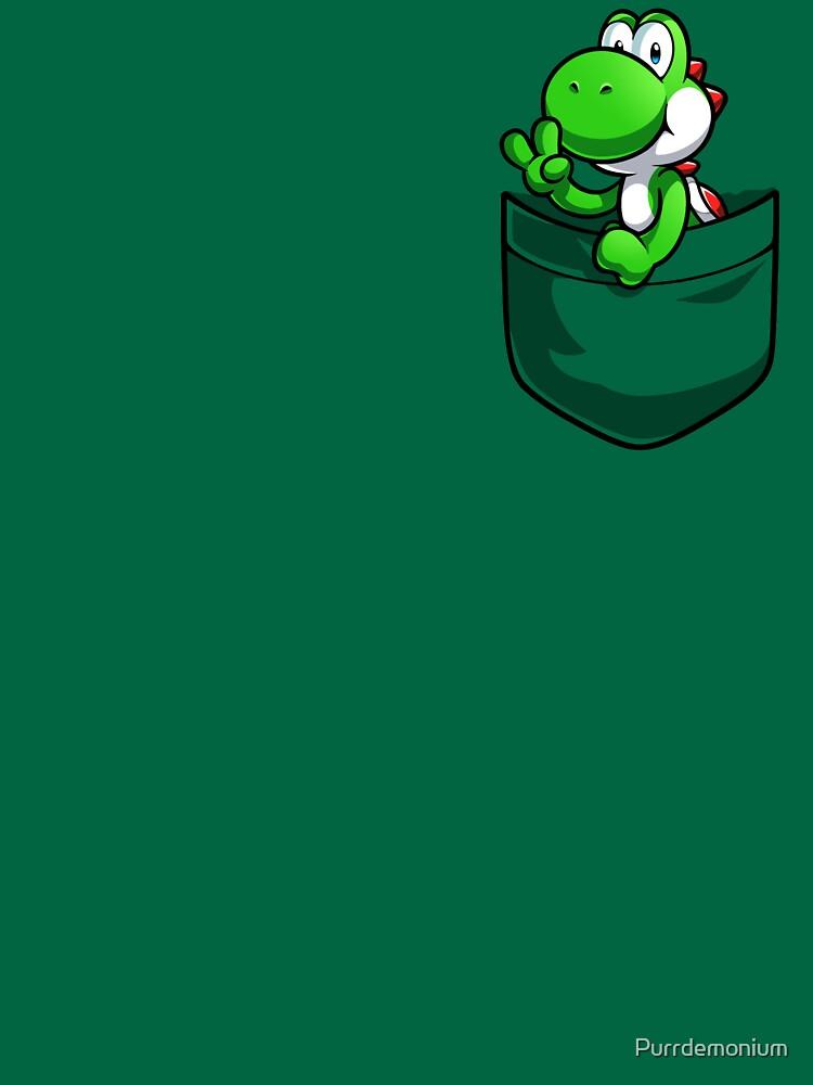 Bolsillo Yoshi Tshirt de Purrdemonium