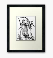 Droll Dreams of Pantagruel Framed Print