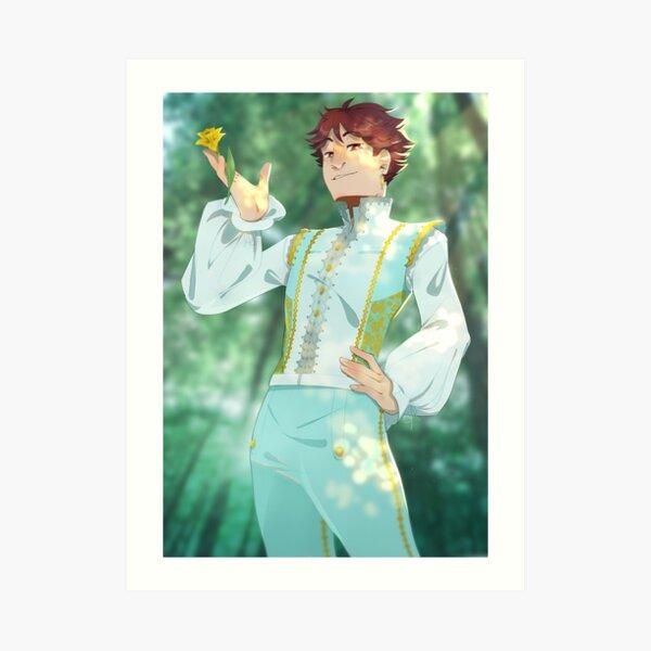 Prince Oikawa Art Print
