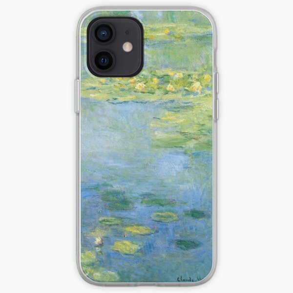 Water Lilies - Claude Monet iPhone Soft Case