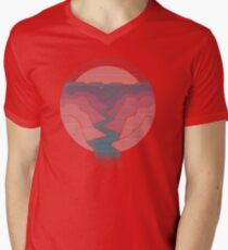 Canyon River Mens V-Neck T-Shirt