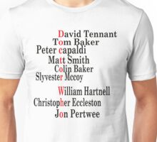 Doctor Who edit Unisex T-Shirt