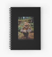 Ewok Thuggin' Spiral Notebook
