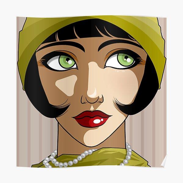 Dame des Années Folles. Poster