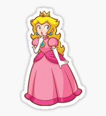 Prinzessin Peach! - Überrascht Sticker