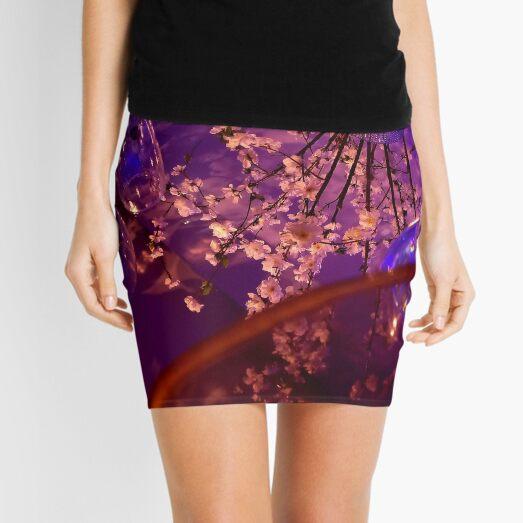 Mirrored flowers Mini Skirt