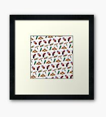 Bugs, bugs and more bugs Framed Print