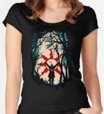 Forest Sun Women's Fitted Scoop T-Shirt