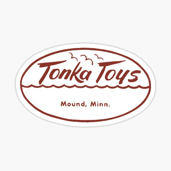 TONKA TOYS - VINTAGE LOGO Sticker