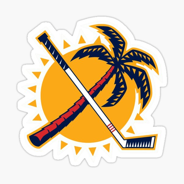 Logo rétro alternatif des Panthers de la Floride Sticker