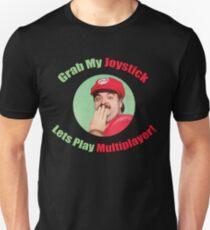 Grab My Joystick -- Sexy Super Mario T-Shirt