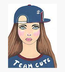 Team Cute Photographic Print