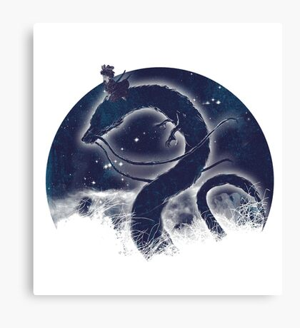 Dragon Delivery Service Canvas Print