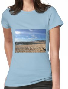 Seaweed and Sandcastles Womens Fitted T-Shirt