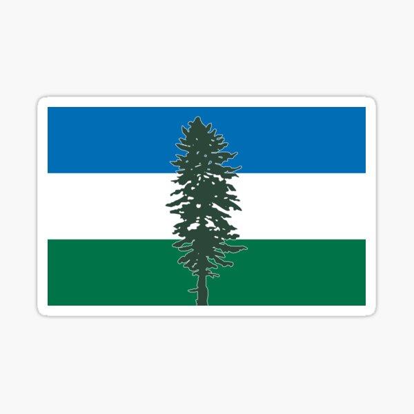 The Doug Flag Sticker