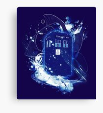 waves of space and time Canvas Print