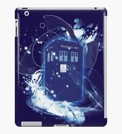 waves of space and time iPad Case/Skin